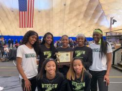 Congratulations to the Girls Track Team for winning the Group III Indoor State Championship!